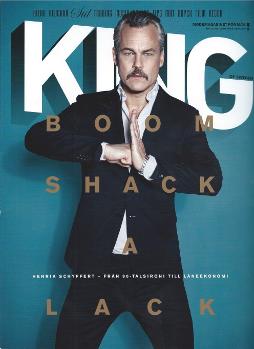 King Magazine Cover
