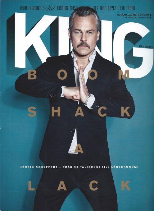 King Magazine Cover