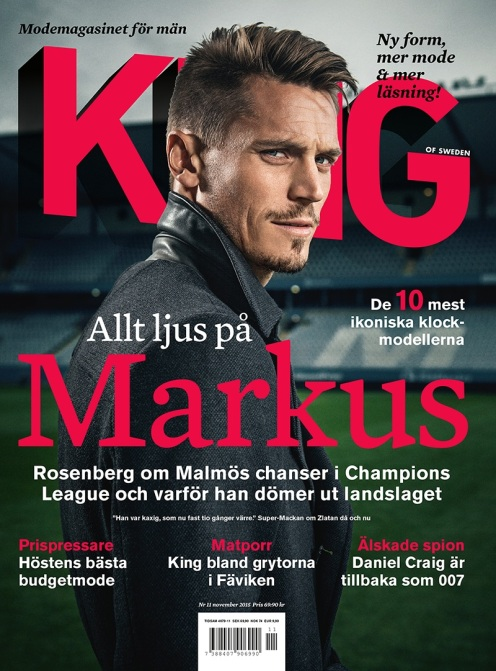 2015-11 King Magazine Cover